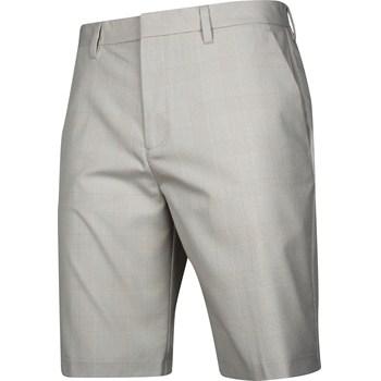 Ashworth Glen Plaid Shorts Flat Front Apparel