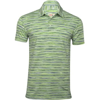 Puma Space Stripe Shirt Polo Short Sleeve Apparel