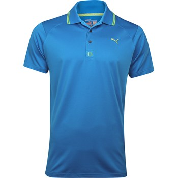 Puma Cat Jacquard Shirt Polo Short Sleeve Apparel