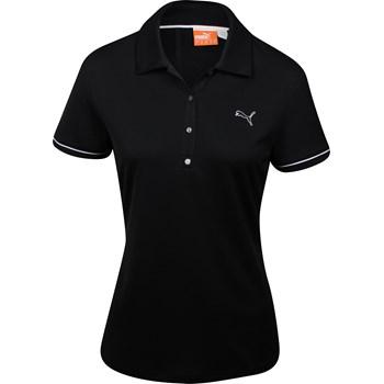 Puma Golf Tech Piped Sleeve Shirt Polo Short Sleeve Apparel