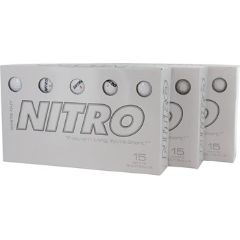 Nitro White Out Bundle Golf Ball Balls