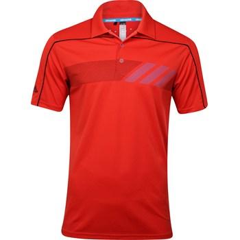 Adidas Climachill Print Shirt Polo Short Sleeve Apparel
