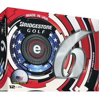 Bridgestone e6 USA Limited Edition Golf Ball Balls