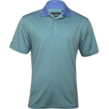 Oxford Ashford Stripe Shirt Polo Short Sleeve Apparel