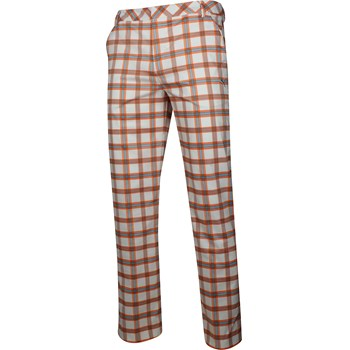Puma DryCell Plaid Tech Style Pants Flat Front Apparel