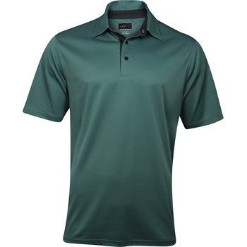 Greg Norman Sorbtek Honeycomb Solid Shirt Polo Short Sleeve Apparel