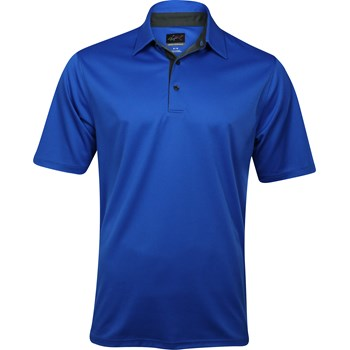 Greg Norman Sorbtek Honeycomb Solid Shirt Polo Short Sleeve Apparel