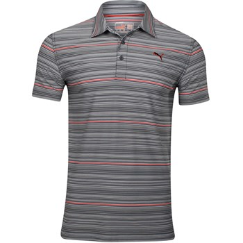 Puma Multi-Stripe Shirt Polo Short Sleeve Apparel