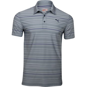 Puma Multi-Stripe Shirt Polo Short Sleeve Apparel