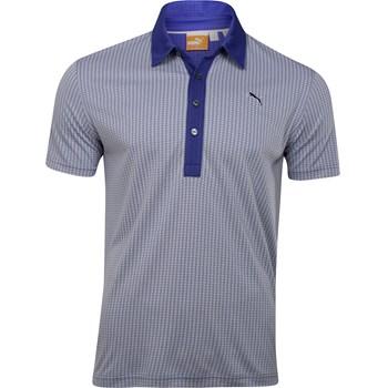 Puma Jacquard Pattern Shirt Polo Short Sleeve Apparel