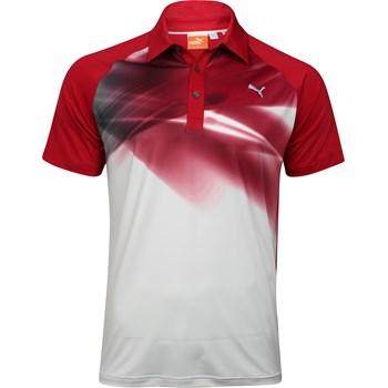 Puma Graphic Raglan Shirt Polo Short Sleeve Apparel