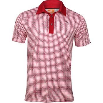 Puma Pattern Print Shirt Polo Short Sleeve Apparel