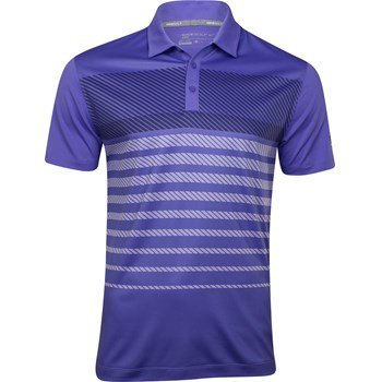 Nike Dri-Fit Stretch Sport Stripe Shirt Polo Short Sleeve Apparel