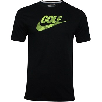 Nike Dri-Fit Stretch Sport Verbiage Shirt T-Shirt Apparel