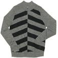Nike 1/2 Zip Broken Stripe Sweater