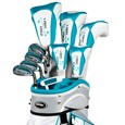 Tour Edge Lady Edge Teal 19-Piece