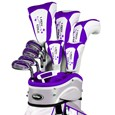 Tour Edge Lady Edge Plum 19-piece