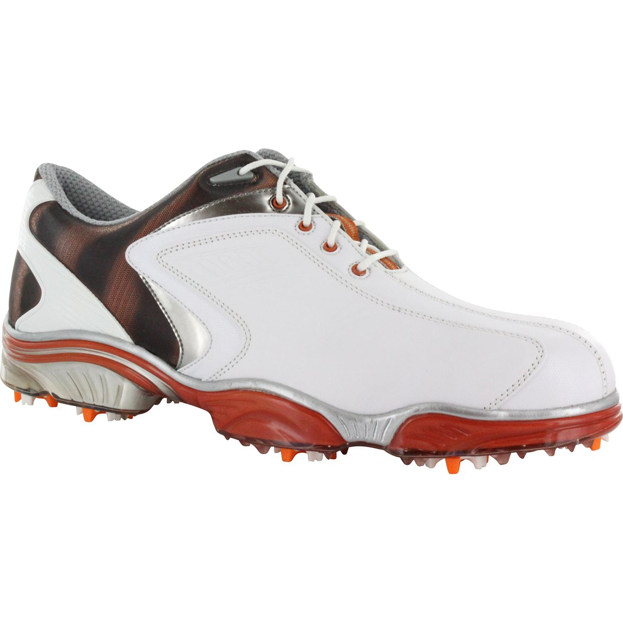 footjoy fj sport black smooth silver 11 medium golf shoes