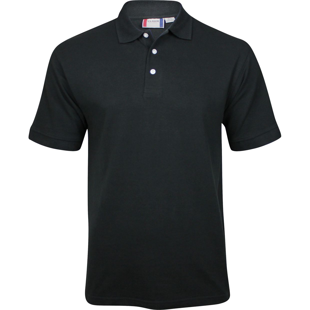 Clique by cutter buck lincoln shirt apparel m black at for Cutter buck polo shirt size chart