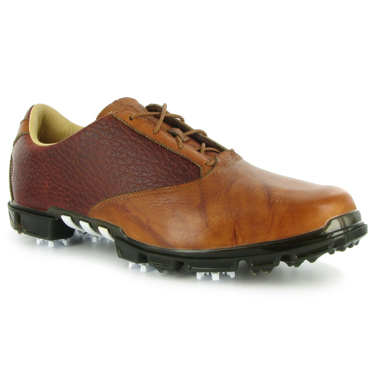 Brown Adidas Adipure Golf Shoes