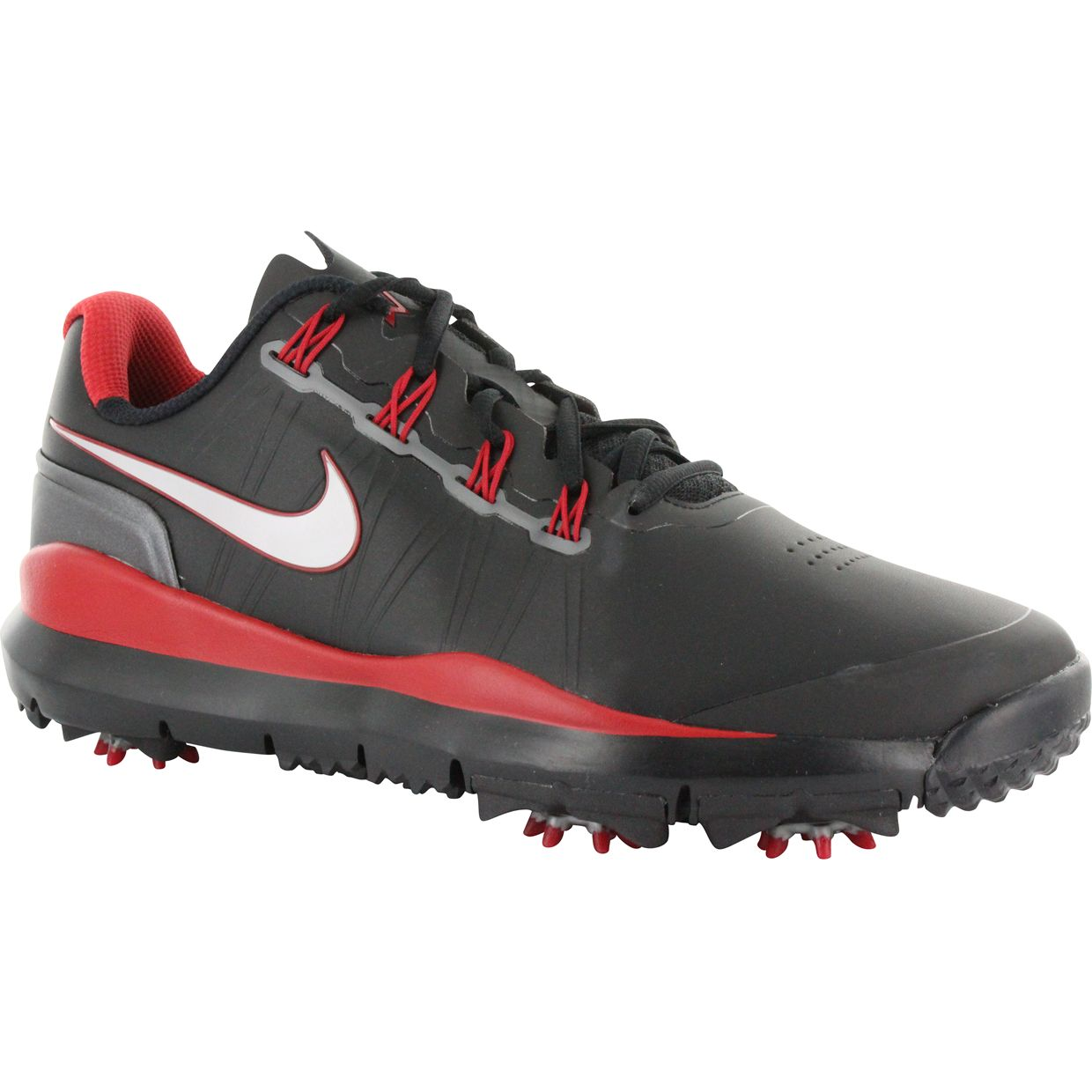 The TW'15 golf shoe from Nike. A debuting addition to the Tiger Woods collection, this year's shoe surpasses the design and technologies of its predecesors.