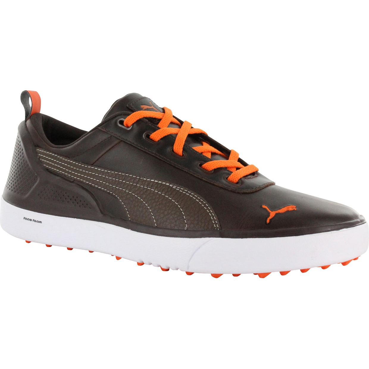 Puma Brown Golf Shoes