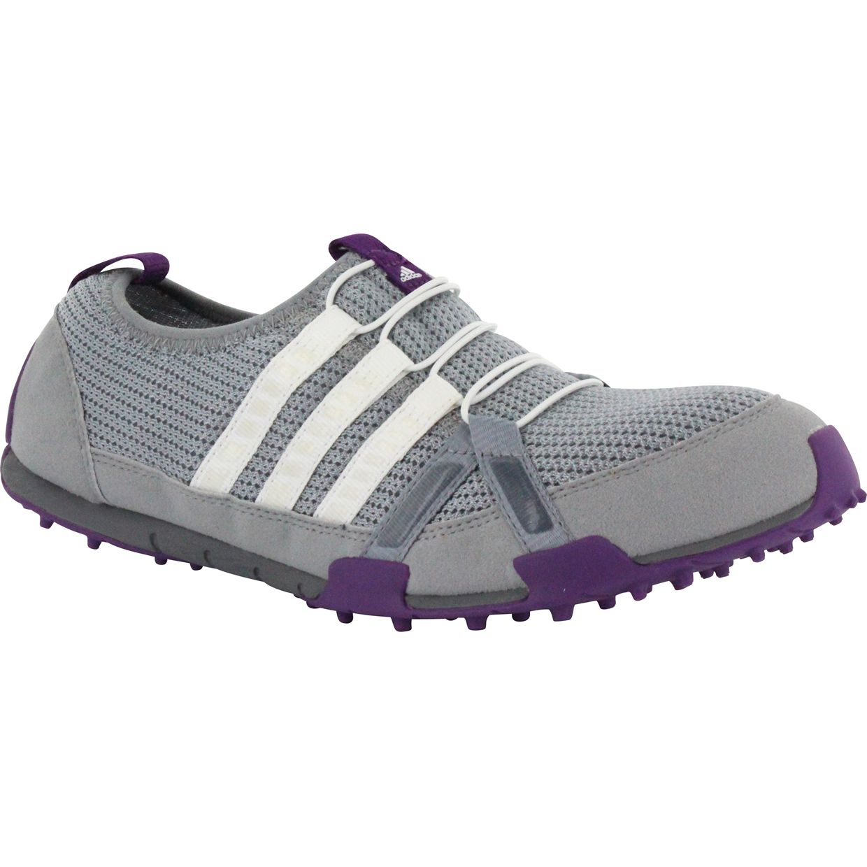 Purple Adidas Golf Shoes