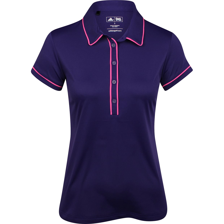 Women Adidas Puremotion Piped Shirt Apparel S Dark Purple ...