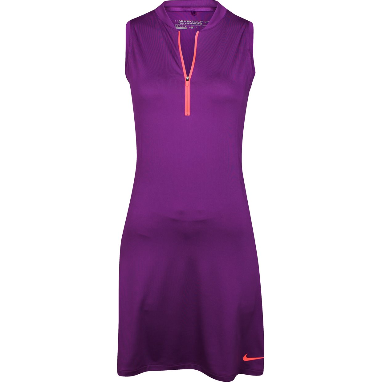 Women nike dri fit sleeveless golf shirt apparel at for Women s dri fit golf shirts