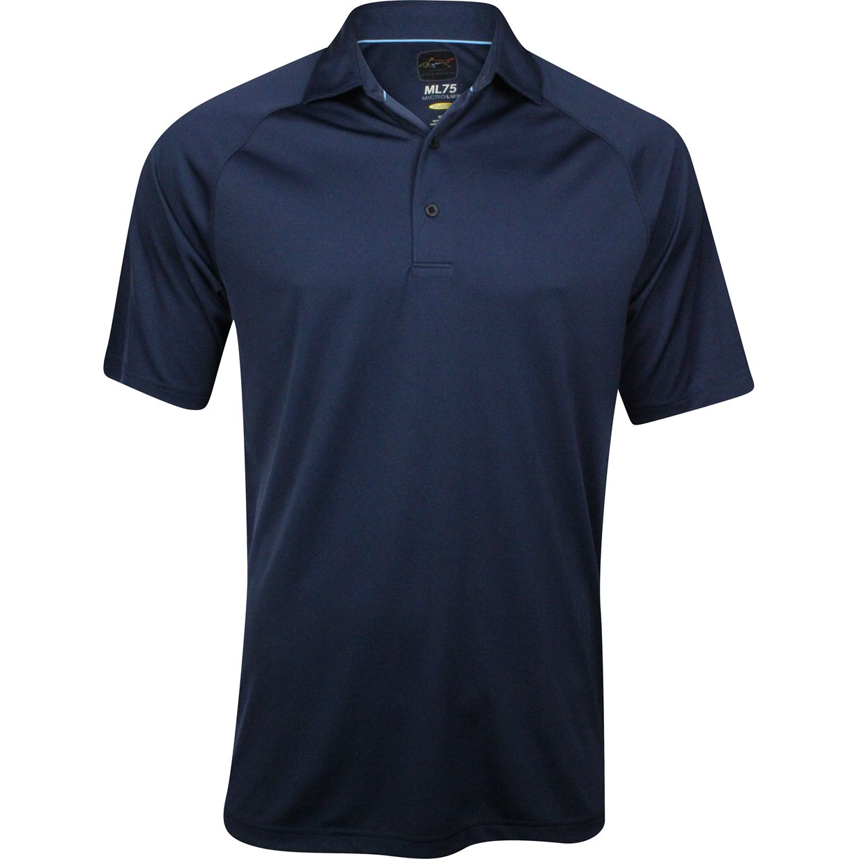 Greg norman ml75 micro lux solid shirt apparel l navy at for Greg norman ml75 shirts