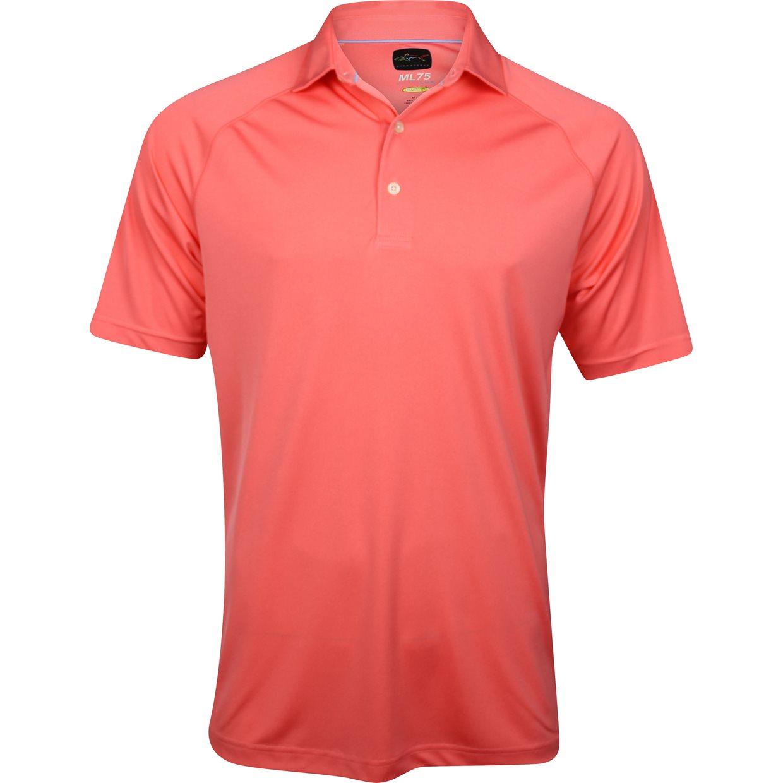 Greg norman ml75 micro lux solid shirt apparel xl aruba at for Greg norman ml75 shirts