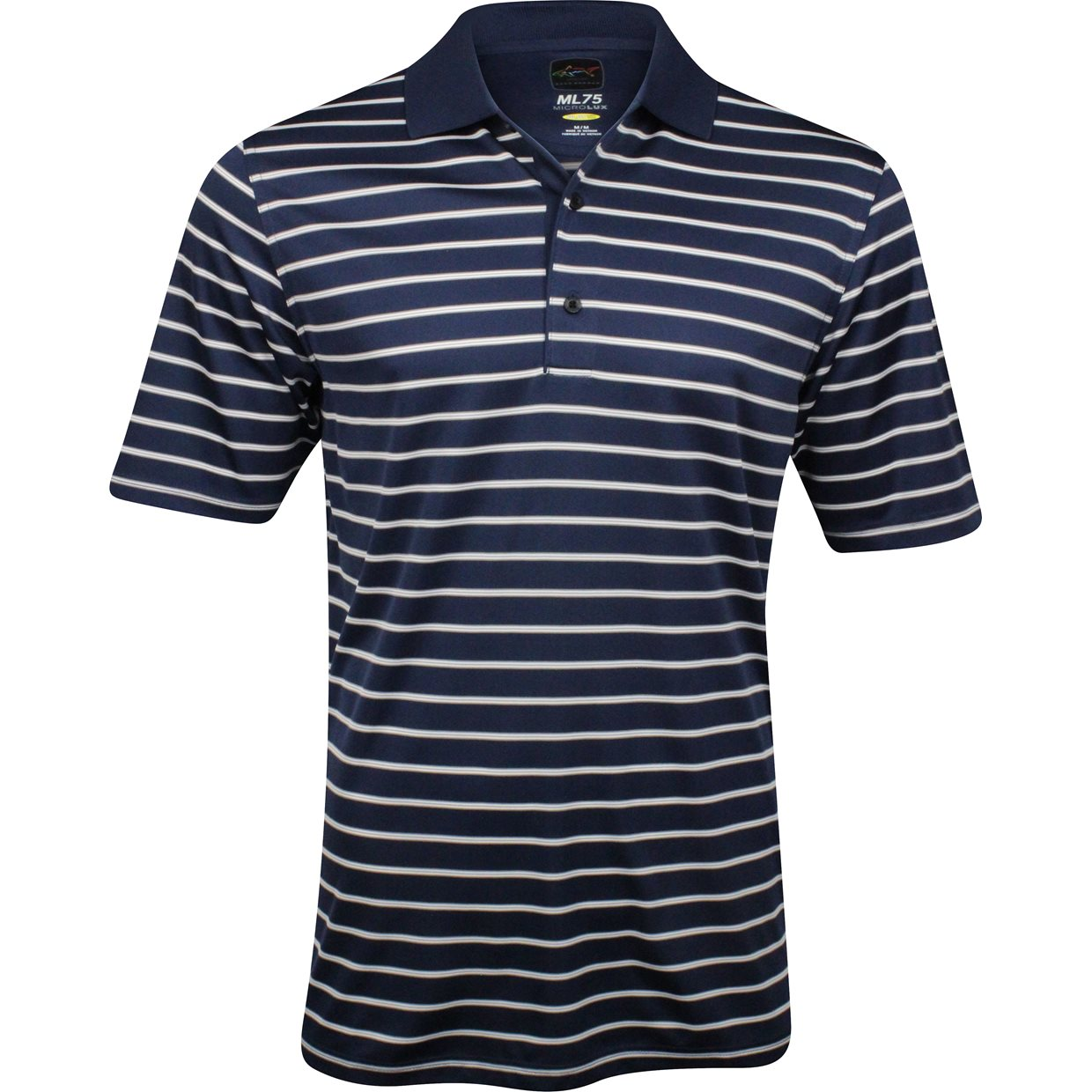 greg norman ml75 micro lux stripe shirt apparel at