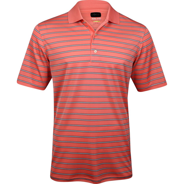 Greg norman ml75 micro lux stripe shirt apparel xxl aruba for Greg norman ml75 shirts