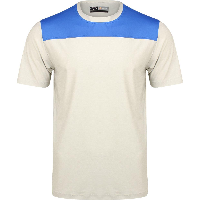 Callaway golf ss opti dri crew neck block t shirt ebay