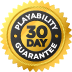 Product qualifies for our 30-Day Playability Guarantee