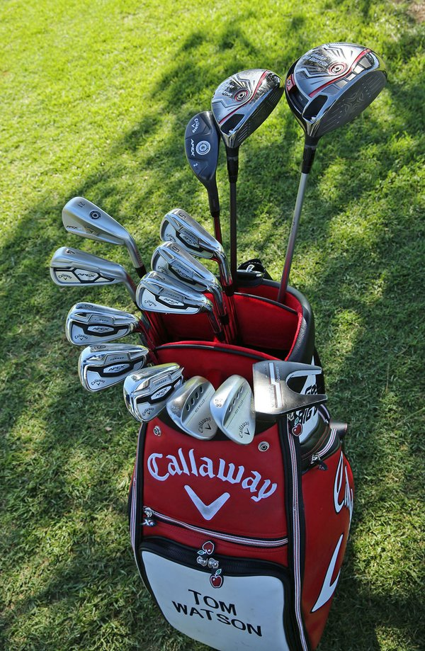 Set of 14 Clubs in a Golf Bag