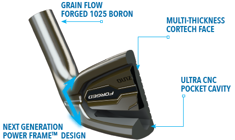 Mizuno JPX-EZ Forged Iron Set at GlobalGolf com