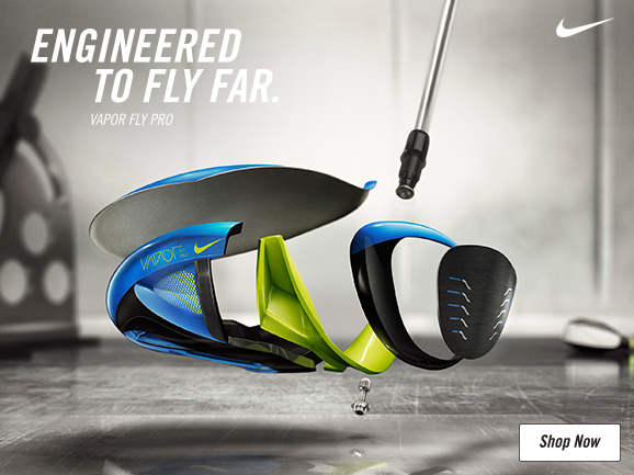 Nike Vapor Fly Golf Clubs - Engineered To Fly Far
