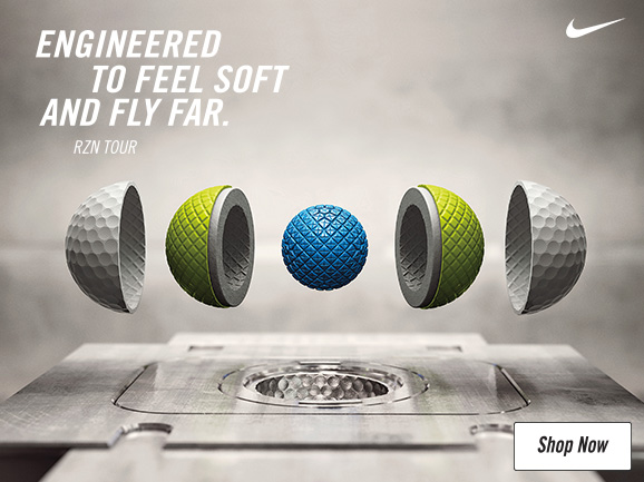 Header: Nike RZN Golf Balls – Engineered To Feel Soft And Fly Far