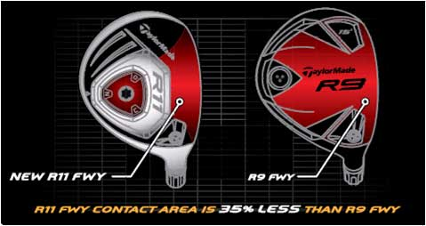 R11 Fairway Wood Compare to R9 Fairway