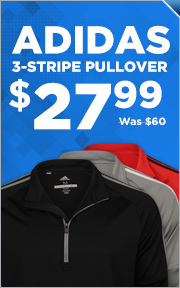 Adidas 3-Stripe Pullover - Now $27.99