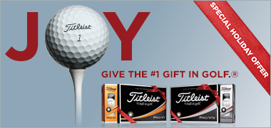 Special Holiday Offer From Titleist