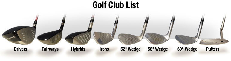 Golf Club List