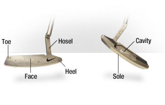 Parts of the Putter Golf Club