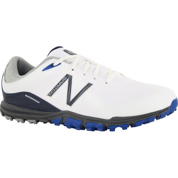New Balance Minimus 1005 NBG1005WB White Blue Men Spikeless Golf Shoes 339389860e5