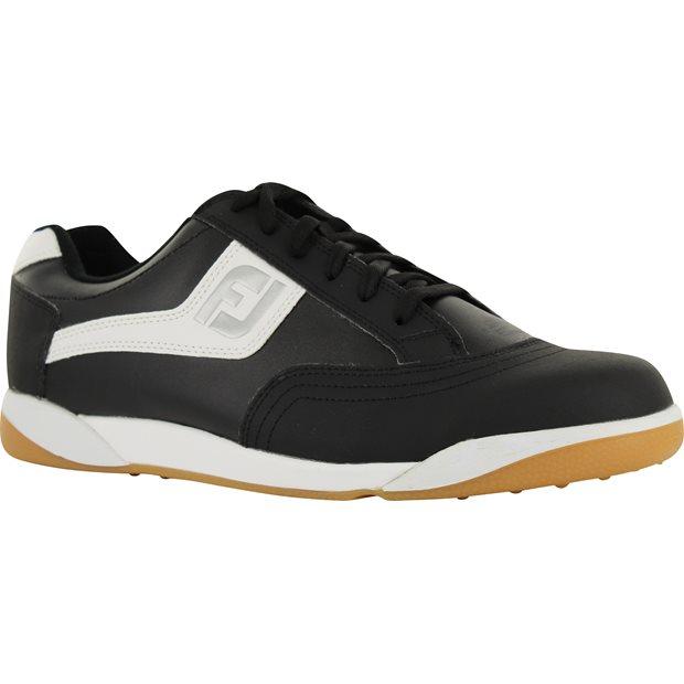 on sale ea6f7 9f65d Details about FootJoy FJ Originals 45347 Black White Men Golf Shoe