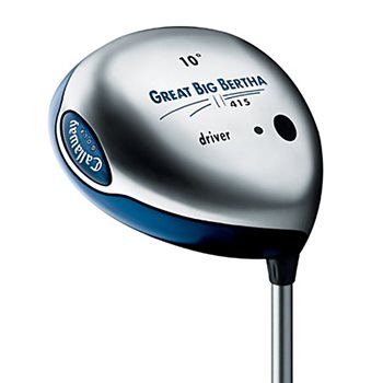 Callaway GREAT BIG BERTHA II 415 Driver Preowned Golf Club
