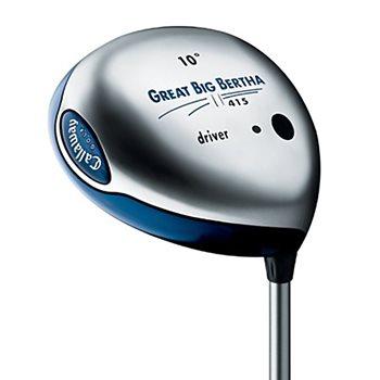 Callaway GREAT BIG BERTHA II 415 Driver Preowned Golf Club