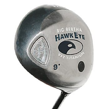 Callaway HAWK EYE VFT TITANIUM Driver Preowned Golf Club