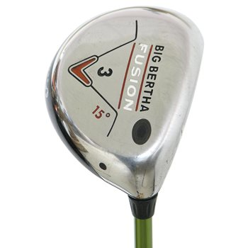 Callaway BIG BERTHA FUSION Fairway Wood Preowned Golf Club